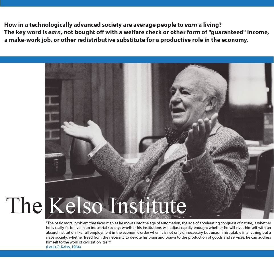 Kelso Institute Home Page